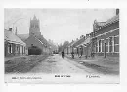 Sint-Lenaarts   St Leonards  Zicht  In 't Dorp 1909   F Hoelen,phot, Cappellen  3405 - Brecht