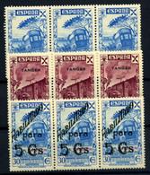 Tánger (beneficencia) Nº 8/9, 13. Año 1938/41 - Wohlfahrtsmarken