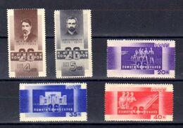 URSS 1933, Mort Des 26 Commissaires Rouges à Bakou, 504 / 508*, Cote 140 €, - Neufs