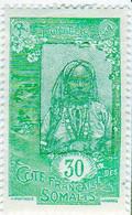 Cote Des Somalis 1925 Femme Indigene 30c YT 126 - Nuovi