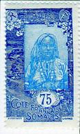 Cote Des Somalis 1925 Femme Indigene 75c YT 130 - Nuovi
