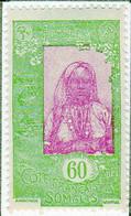 Cote Des Somalis 1925 Femme Indigene 60c YT 128 - Nuovi