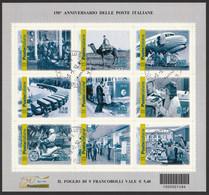 ITALIA 2012 150° Anniversario Delle Poste Italiane Usato - 2011-...: Usados