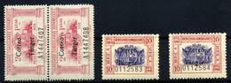 Tánger Nº 144, 146. Año 1938 - Non Classificati