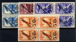 Tánger (beneficencia) Nº 13/16. Año 1941 - Wohlfahrtsmarken