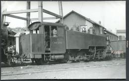 "Espagne - Photo  Format CPA - P.V. (Ponferrada Villablino) Locomotora Baldwin 2-6-2 T ""Arana Lupardo"" N° 7 - See 2 Scans - Treinen"