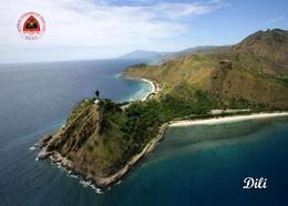 East Timor Dili Jesus Beach Aerial View New Postcard Osttimor AK - East Timor