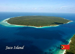 East Timor Jaco Island Aerial View New Postcard Osttimor AK - East Timor