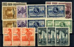 Tánger Nº 25, 27/8, 34, 38, 40, 43/45. Año 1926/29 - Non Classificati