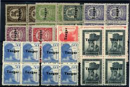Tánger Nº 114/24. Año 1939 - Non Classificati