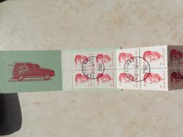 Belgique Belgie  Gestempelt / Oblitéré Carnet 18 / Boekje Taxi Baudouin Boudewjn - Booklets 1953-....