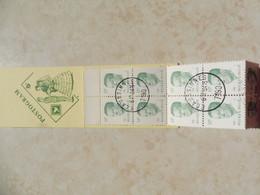 Belgique Belgie  Gestempelt / Oblitéré Carnet 17 / Boekje White Gom Gomme Blanche Baudouin Boudewjn - Booklets 1953-....
