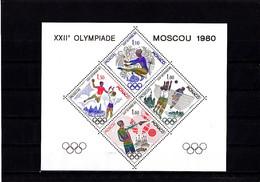 Olympics 1980 - Shooting - MONACO - S/S De Luxe MNH - Summer 1980: Moscow