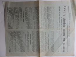 Papier L'Institut Sérothérapique De Gembloux En Belgique. - Pubblicitari