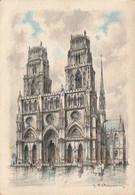 ORLEANS. - La Cathédrale. Edition Barré Dayez 2052 E - Orleans