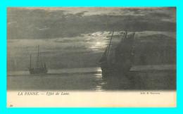 A774 / 465 DE PANNE La Panne Effet De Lune ( Bateau ) - De Panne
