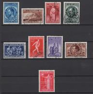 Belgique: 1946. COB : 728/36, Oblitéré(s). - Gebraucht