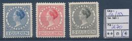 NETHERLANDS YVERT 152/153 LH - Unused Stamps