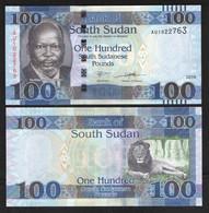 SOUTH SUDAN  100  2019 UNC - Sudán Del Sur