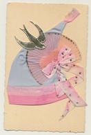 Bonnet Ste Catherine - Découpi - Tissus - Noeuds - Brillants - Hirondelle Papier Doré... - St. Catherine