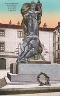 CIVITAVECCHIA - CARTOLINA - MONUMENTO AI CADUTI IN GUERRA - Civitavecchia