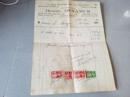 Anderlues Facture Volet Mécanique  Desiré 1941 - Non Classificati