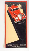 Marque-page (partie De Couvre Livre) Automobile RENAULT  (PPP24125) - Segnalibri