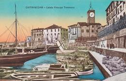 CIVITAVECCHIA - CARTOLINA - CALATA PRINCIPE TOMMASO - Civitavecchia