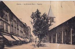 COURS(CARTE TOILEE) - Cours-la-Ville