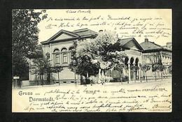 ALLEMAGNE - DARMSTADT - Gruss Aus Darmstadt  -  Kunsthalle - 1908 - RARE - Darmstadt