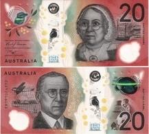 AUSTRALIA       20 Dollars       P-New       (20)19       UNC - Emissioni Governative Decimali 1966-...