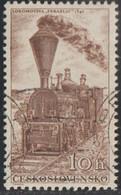 Checoslovaquia 1956 Scott 770 Sello * Tren Locomotora Locomotive Zbraslav (1846) Michel 988 Yvert 875 Czechoslovakia - Ungebraucht