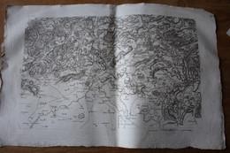 Carte Début XIX° Revolution ESCH  LUXEMBOURG   Lot 8 - Carte Geographique