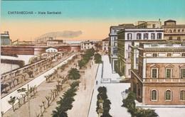 CIVITAVECCHIA - CARTOLINA - VIALE GARIBALDI - Civitavecchia
