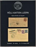 BALLONS MONTÉS & ZEPPELIN, Siege Of Paris, Auction Catalogue 2008, Colour, In German - Catálogos De Casas De Ventas