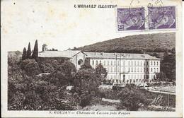 "ROUJAN "" Chateau De Cassan ""    N° 1962 - Non Classificati"