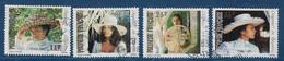 """Polynésie YT 198 à 201 """" Chapeaux """" 1983 Oblitéré - Used Stamps"""