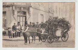 85 - Fontenay Le Comte - Fête Des Fleurs - Hôtel Du Commerce - Fontenay Le Comte
