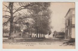 79 - St Hilaire La Palud - Place De L' Eglise Et La Poste - Other Municipalities
