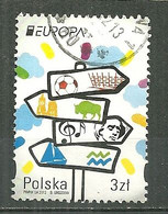 POLAND Oblitéré 4276 Europa Tourisme - Used Stamps