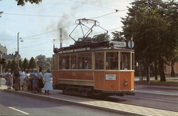 Tram/Strassenbahn Norrköping,Rundtour Linie 16, Ungelaufen - Tram