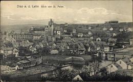 CPA Diez Im Rhein Lahn Kreis Rheinland Pfalz, Blick Von St. Peter Auf Die Stadt - Otros