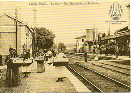 55 COMMERCY - La Gare - Les Marchandes De Madeleines - En Passant Par La Lorraine Zins - BE - Commercy