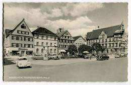 VW Käfer Ovali,Bus T1,Opel Olympia Rekord,Mercedes Ponton W120,Mindelheim,Marktplatz, Ungelaufen - Toerisme