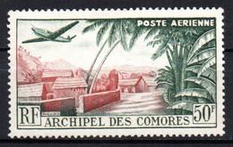 Col17  Colonie Comores PA N° 1 Neuf X MH Cote 3,50€ - Poste Aérienne