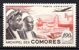Col17  Colonie Comores PA N° 2 Neuf X MH Cote 6,50€ - Poste Aérienne