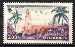 Col17  Colonie Comores PA N° 3 Neuf X MH Cote 25,00€ - Poste Aérienne