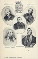 Luxembourg - Luxemburg - Bischof Koppes , Bischof Laurent , Erzbischof Adames , Mgr.Vandernoot , Mgr Neuhauser - Familia Real