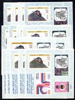 Inde Bloc-feuillet YT N° 1 X 15 Blocs Neufs ** MNH. TB. A Saisir! - Blocks & Sheetlets