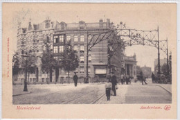 Amsterdam Marnixstraat Hk Korte Marnixkade Levendig Haarlemmerpoort ± 1901    1437 - Amsterdam